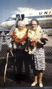 G & G Price visit Hawaii, 1966
