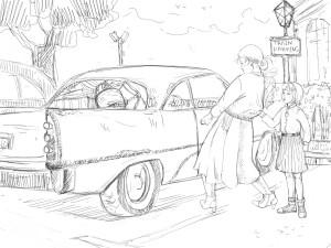 Car door Nina