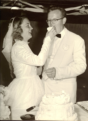 Wedding cake 1953